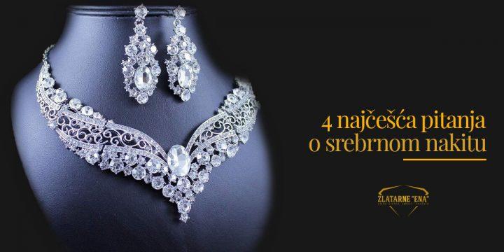 Četiri najčešća pitanja o srebrnom nakitu