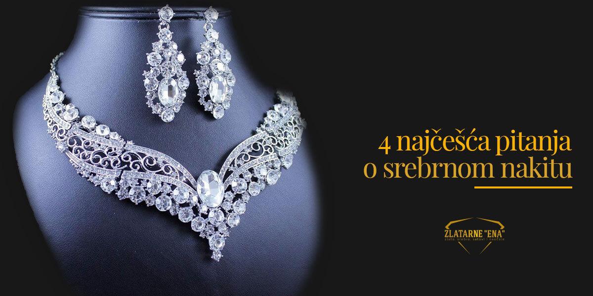 You are currently viewing Četiri najčešća pitanja o srebrnom nakitu