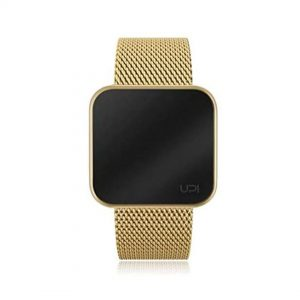 UP! WATCH TOUCH SLIM GOLD