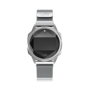 UP! WATCH ICONIC SILVER/WHITE-9
