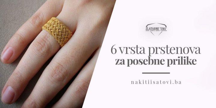 6 vrsta prstenova za posebne prilike