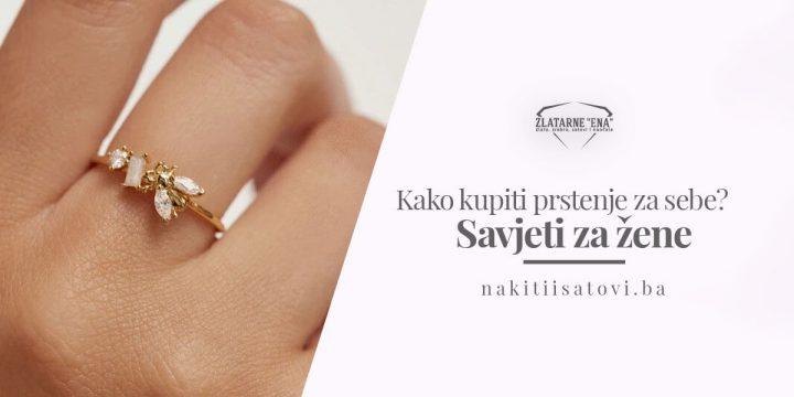 Kako kupiti prstenje za sebe? – Savjeti za žene